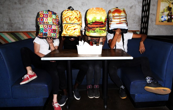MOJO Backpack's Diner Collection