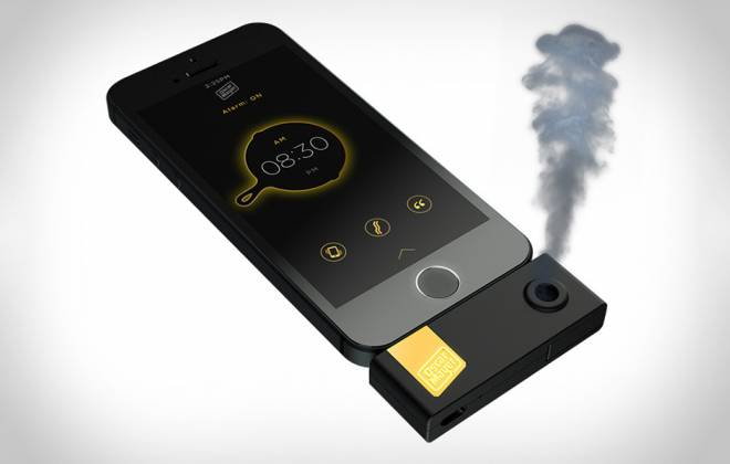 A Bacon Scented iPhone Alarm