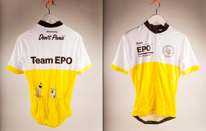 WIN A Limited Edition 'Team EPO' Cycling Jersey