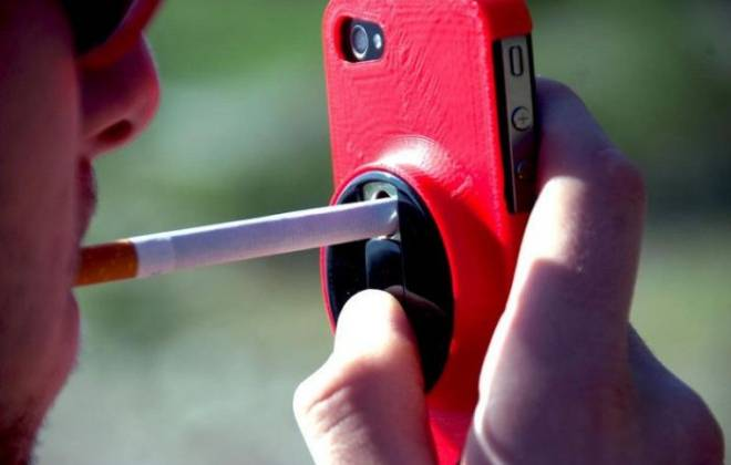 An iPhone Case For Smokers