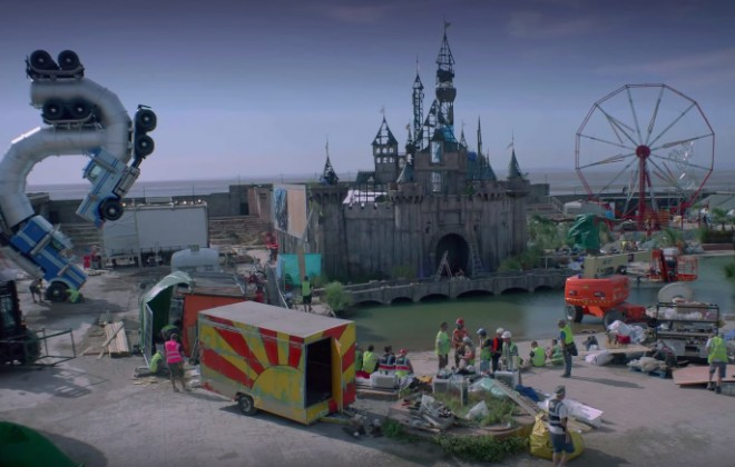 Banksy Releases Trailer For Dismaland