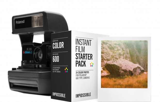Take Real Photos with The Impossible Project's Instant Film and Camera Starter Pack