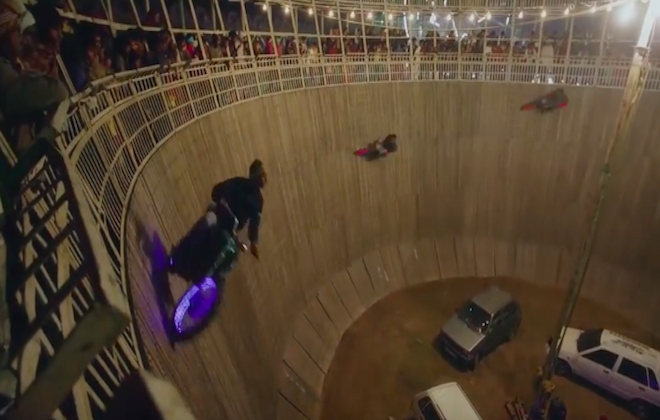 Nowness Brings You Riders Of The Well Of Death