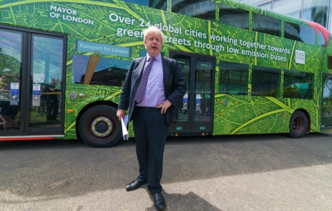 Stupid Boris Johnson To Unveil New Line Of Shitty Buses