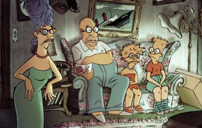 Sylvain Chomet x The Simpsons