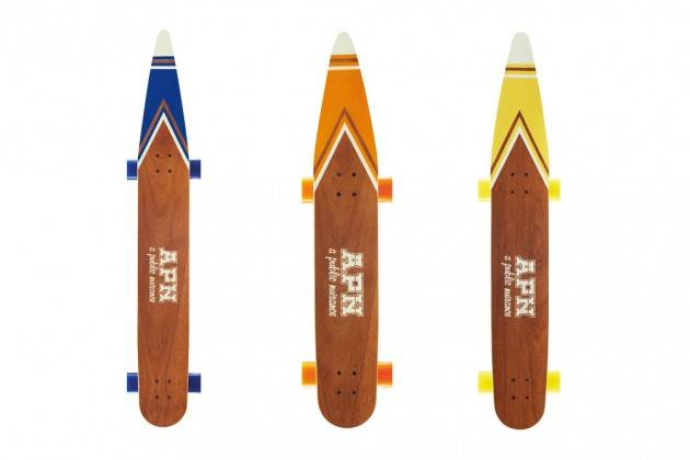 Waterski-Inspired Longboards By A Public Nuisance