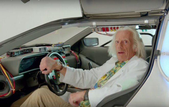 A Special Message From Doc Brown On Back To The Future Day