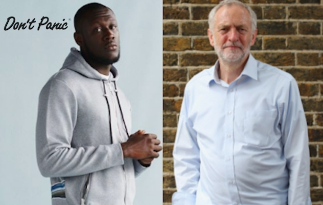 Grime Superstar Stormzy To Collaborate With Jeremy Corbyn?!