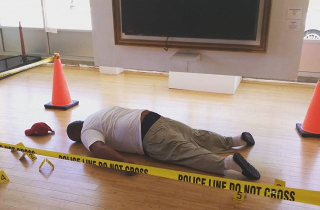 A Michael Brown Art Installation Is Really Pissing People Off