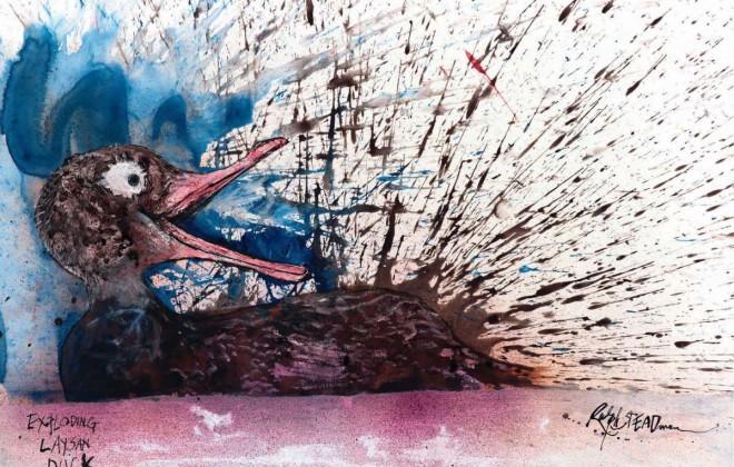 Ralph Steadman Illustrates Birds On The Brink Of Extinction