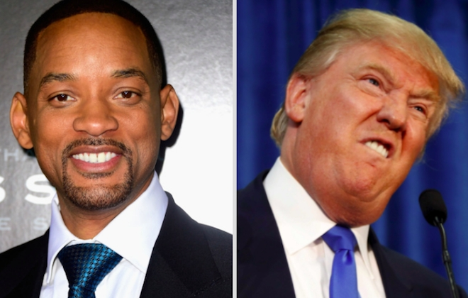 Will Smith Slates Republican Presidential Candidate Donald Trump