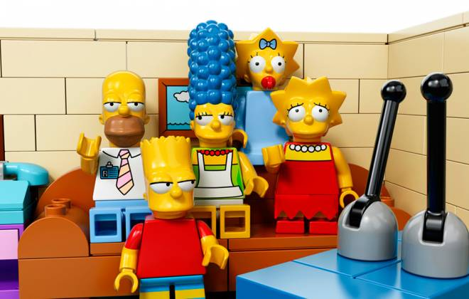 The Simpsons To Air LEGO Episode