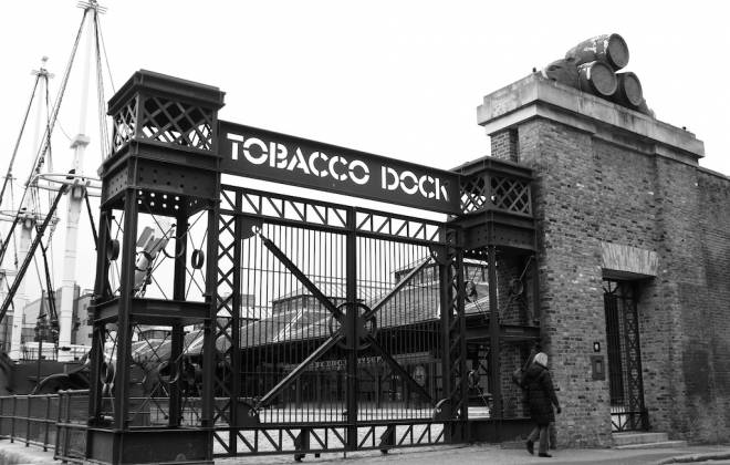 New Years Day At The Tobacco Dock!