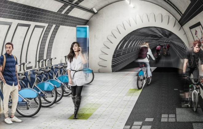 Would You Walk and Ride On The London Underline?