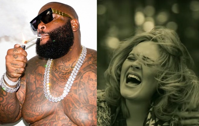 Rick Ross Remixing Adele's 'Hello' Shouldn't Work But It Does