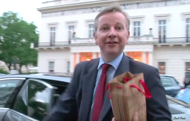 We Pranked Tory Leadership Contender Michael Gove!