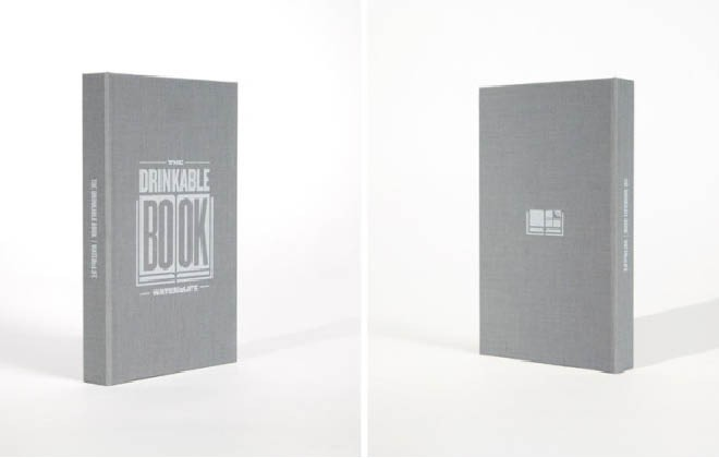 The book that makes drinkable water