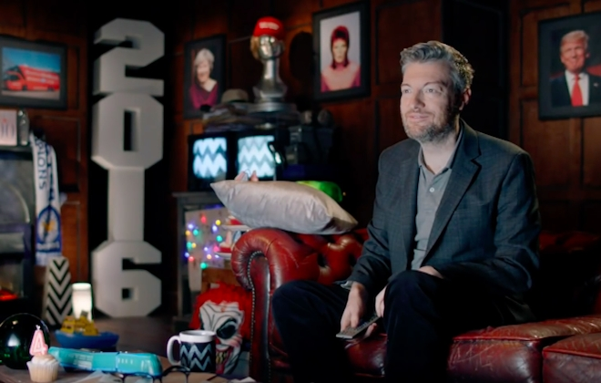 Look Back On Last Year With Charlie Brooker's 2016 Wipe