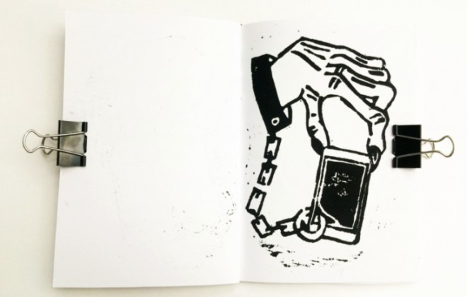 A Zine About That Huge Modern Addiction: Mobile Phones