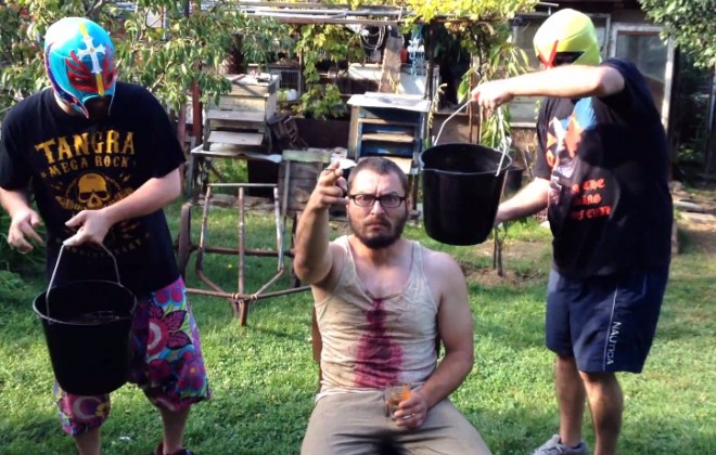 The Bulgarian Shit Bucket Challenge