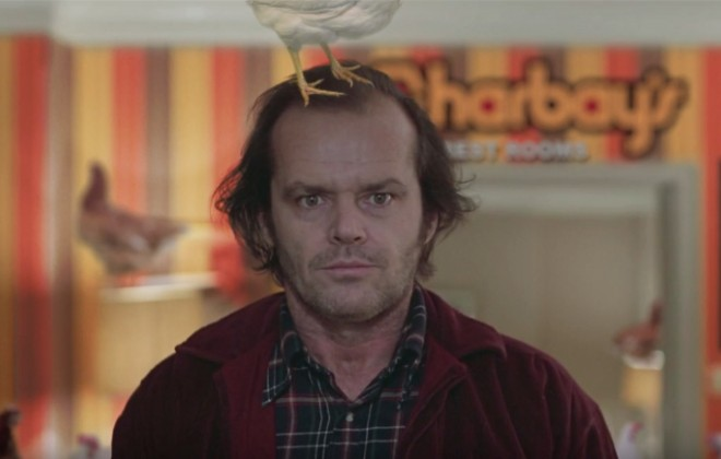 A Chicken-Based Remix of The Shining