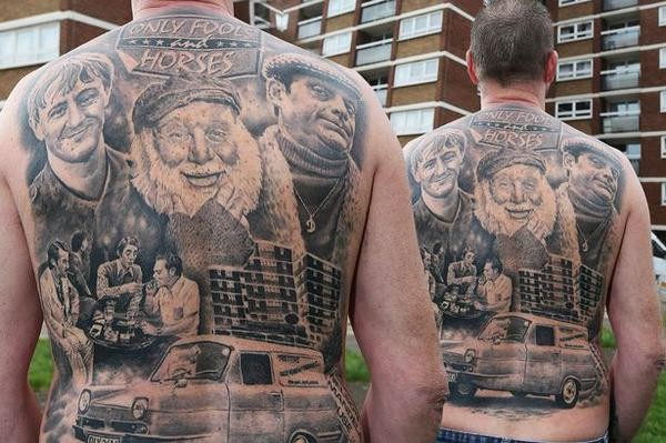 Nice Only Fools & Horses Back-Piece My Friend