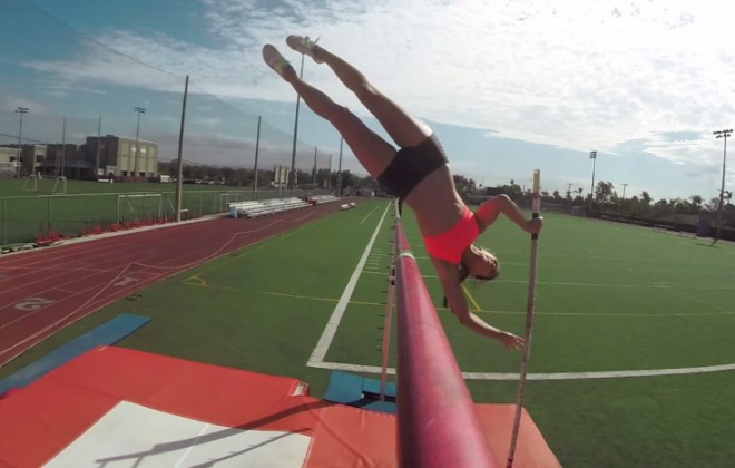 Memories of an Online Past - Allison Stokke's Go-Pro Pole Vault