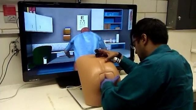 Patrick The Rectal Exam Robot