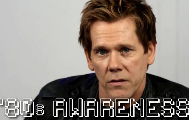 Kevin Bacon Trying To Explain the 80s To Millennials