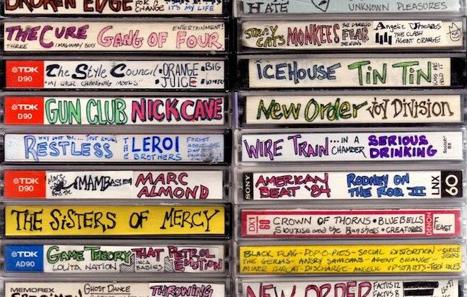 Steve Vistaunet's Cassette Cover Collection