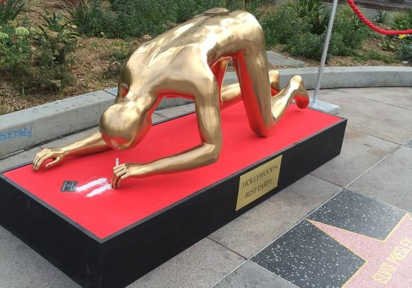Meet The Cocaine Snorting Oscars Statue