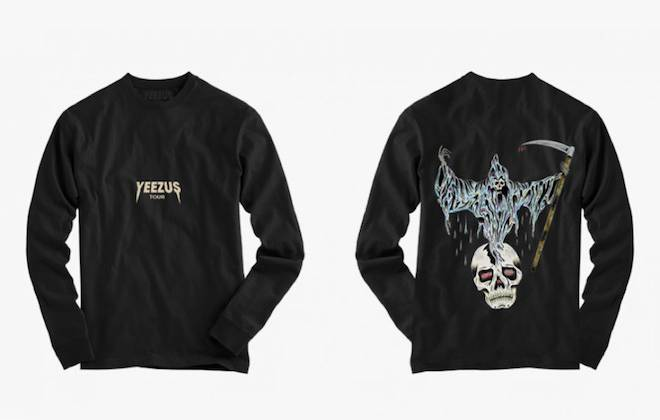 Kanye West Releases More Yeezus Tour Merchandise