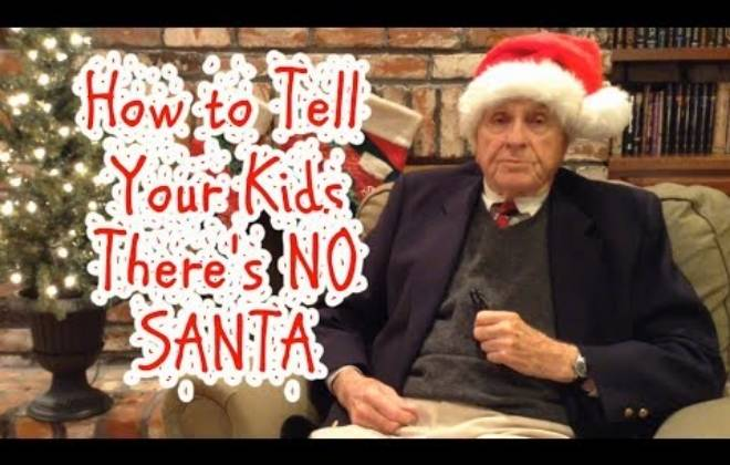 How To Tell Your Kids There's NO SANTA