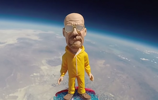 Walter White In Space