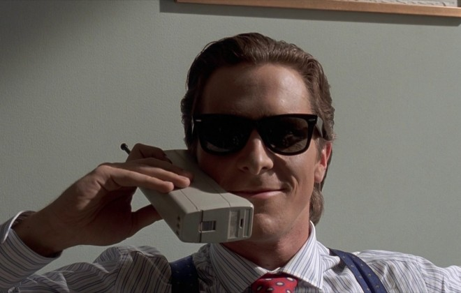 Patrick Bateman Is Now On Tinder
