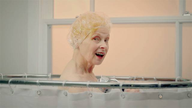 Vivienne Westwood Takes A Shower for Peta