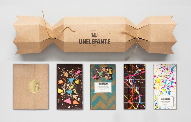 Unelefante's Pollock Chocolate Bars