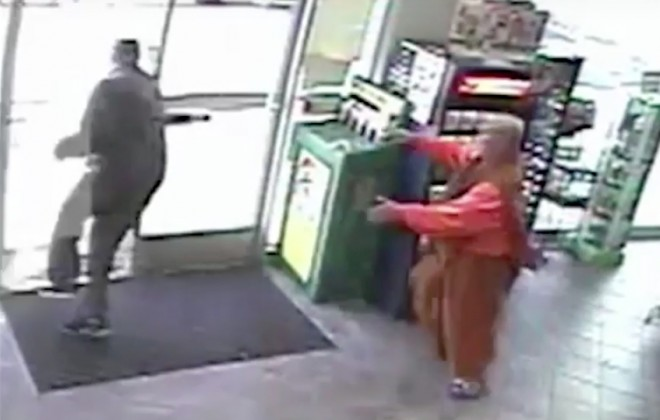Caught On Camera: Lottery Playing Monk Robbed