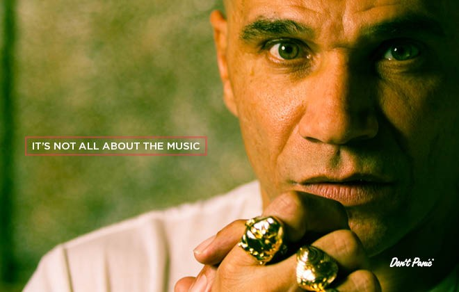 It's not all about the music: Goldie