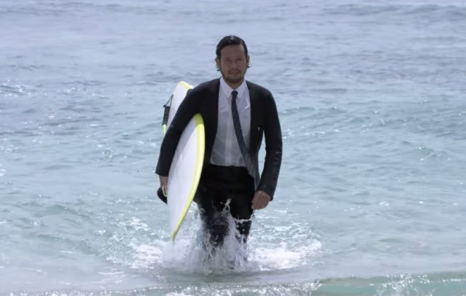 A Wetsuit That Looks Like An Actual Suit