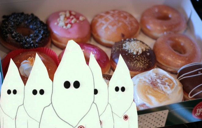 It's Half Term, Why Not Take The Kids To KKK Wednesdays at Krispy Kreme?