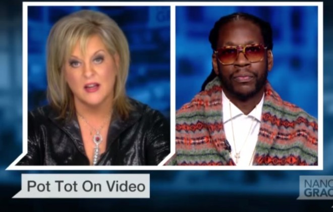 2 Chainz Debates Pot Legislation With Nancy Grace