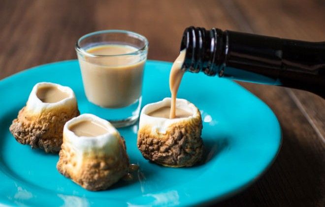 Marshmallow Shot Glasses - Obese Alcoholics Rejoice!
