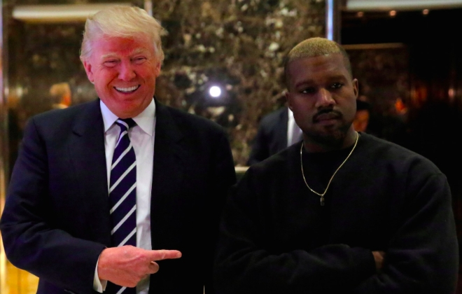 Kanye West Meets With President Elect-Donald Trump