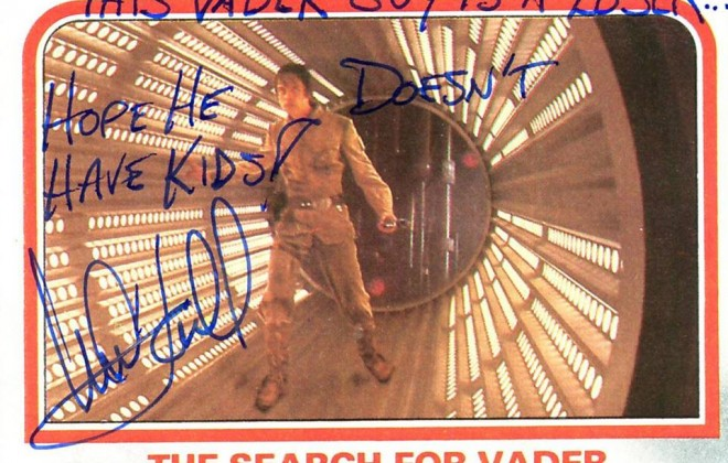 Luke Skywalker's Autographs Are Hilarious