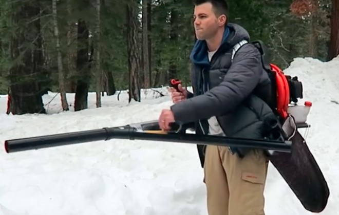 A Snowball Machine Gun