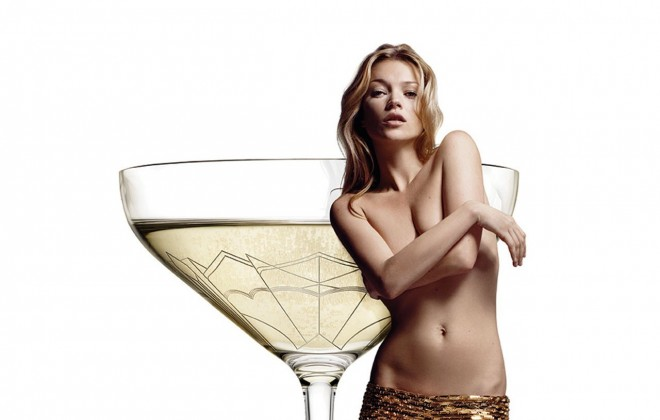 Sipping Champagne From Kate Moss' Boob