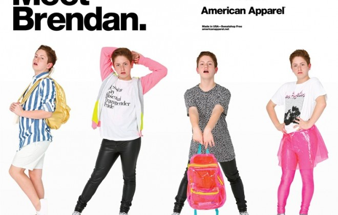 Fierce Teenager Now Models For American Apparel