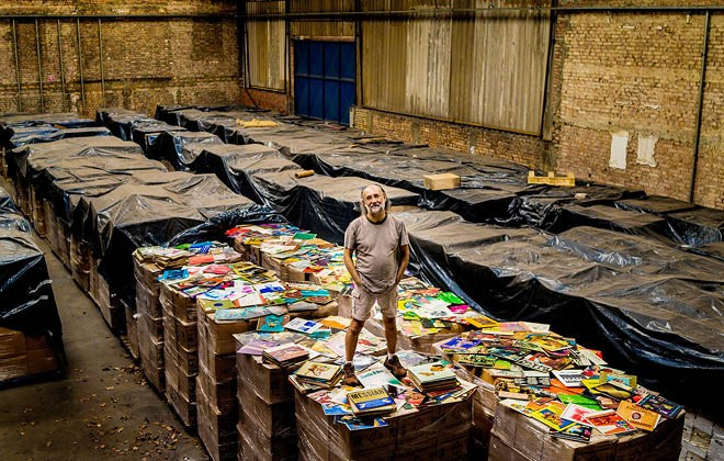 The largest vinyl collection in the world