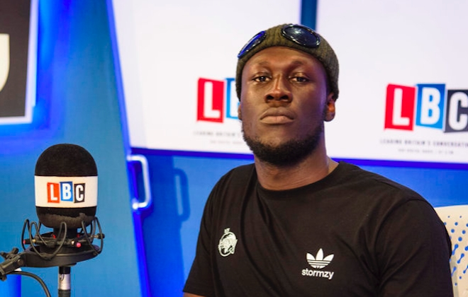 Stormzy Defends Grime Scene During Radio Interview